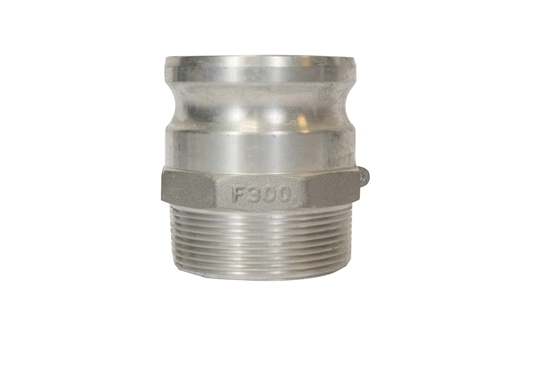 """3"""" Male Threaded to Male Quick Couple Adapter"""