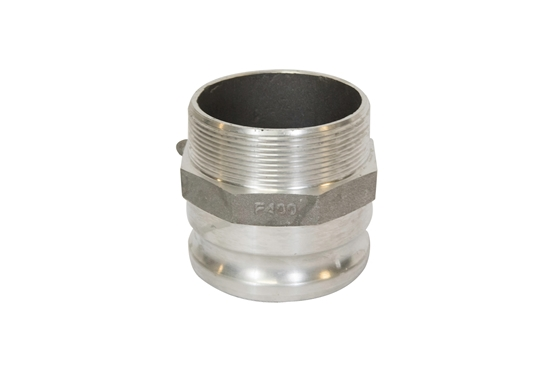 "4"" Male Threaded to Male Quick Couple Adapter"