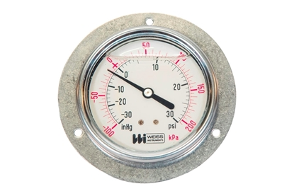 "2-1/2"" Liquid Filled Vacuum Pressure Gauge"