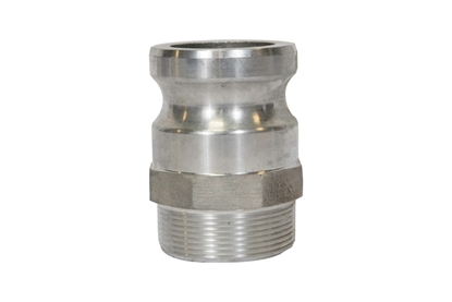 "2"" Male Threaded to Male Quick Couple Adapter"